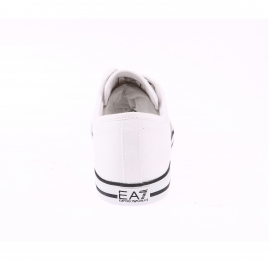 Baskets EA7 en toile blanche