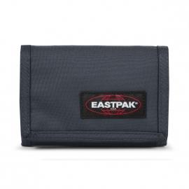 Portefeuille Eastpak Crew single en toile bleu marine