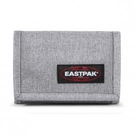 Portefeuille Eastpak Crew single en toile gris chiné
