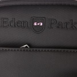 Sacoche Eden Park en toile noire
