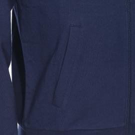 Sweat zippé Emporio Armani bleu marine