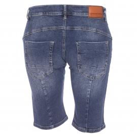 Short Indiana Freeman T. Porter en jean bleu