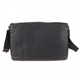 Porte-documents/ Porte-ordinateur 13 pouces Mayfair Fossil en cuir noir