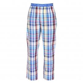 Pantalon de pyjama Gant en coton à carreaux multicolores