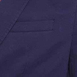 Veste de blazer Gentleman Farmer en coton bleu marine