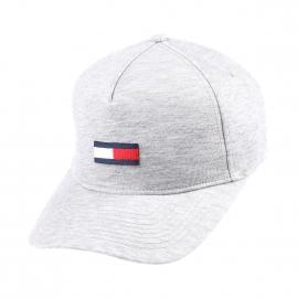 Casquette Hilfiger Denim gris chiné brodée du logo