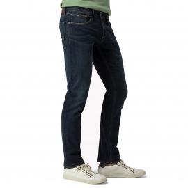 Jean slim Scanton Hilfiger Denim en coton stretch bleu foncé