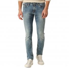 Jean slim Scanton Hilfiger Denim en coton stretch bleu clair