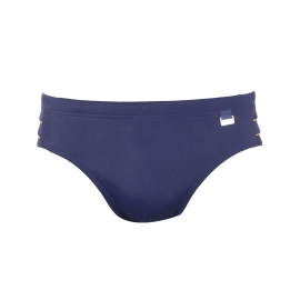 Slip de bain Baracoa Hom en polyamide bleu marine