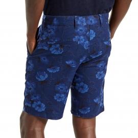 Short chino Levi's en coton bleu marine à fleurs bleu indigo