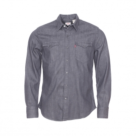 Chemise en jean Levi's Barstow Western Gray Rinse