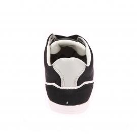 Baskets Levi's en toile et daim noir floqué 501 en blanc