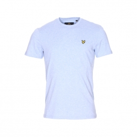 Tee-shirt col rond Lyle & Scott en coton bleu ciel