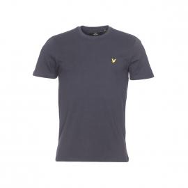 Tee-shirt col rond Lyle & Scott en coton noir