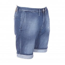Short Meltin'Pot en coton bleu jean