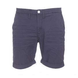 Short Meltin'Pot en coton stretch bleu marine