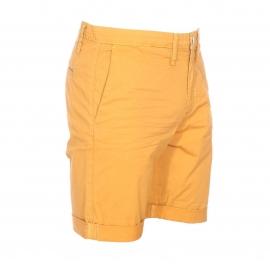 Short Meltin'Pot en coton stretch jaune moutarde