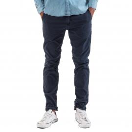 Pantalon chino Meltin'Pot Simon bleu marine