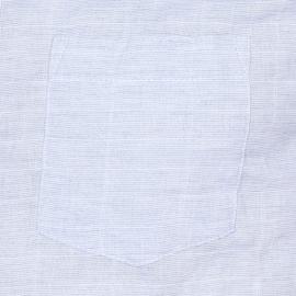 Chemise droite Minimum en oxford bleu