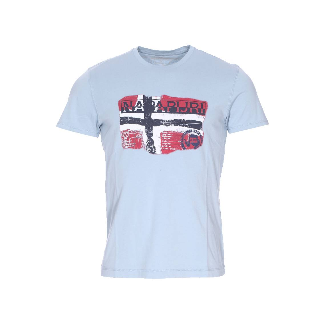 tee shirt homme napapijri jusqu 50 soldes deuxi me d marque. Black Bedroom Furniture Sets. Home Design Ideas