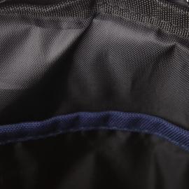 Sacoche Cody Redskins en toile bleu navy à empiècements noirs