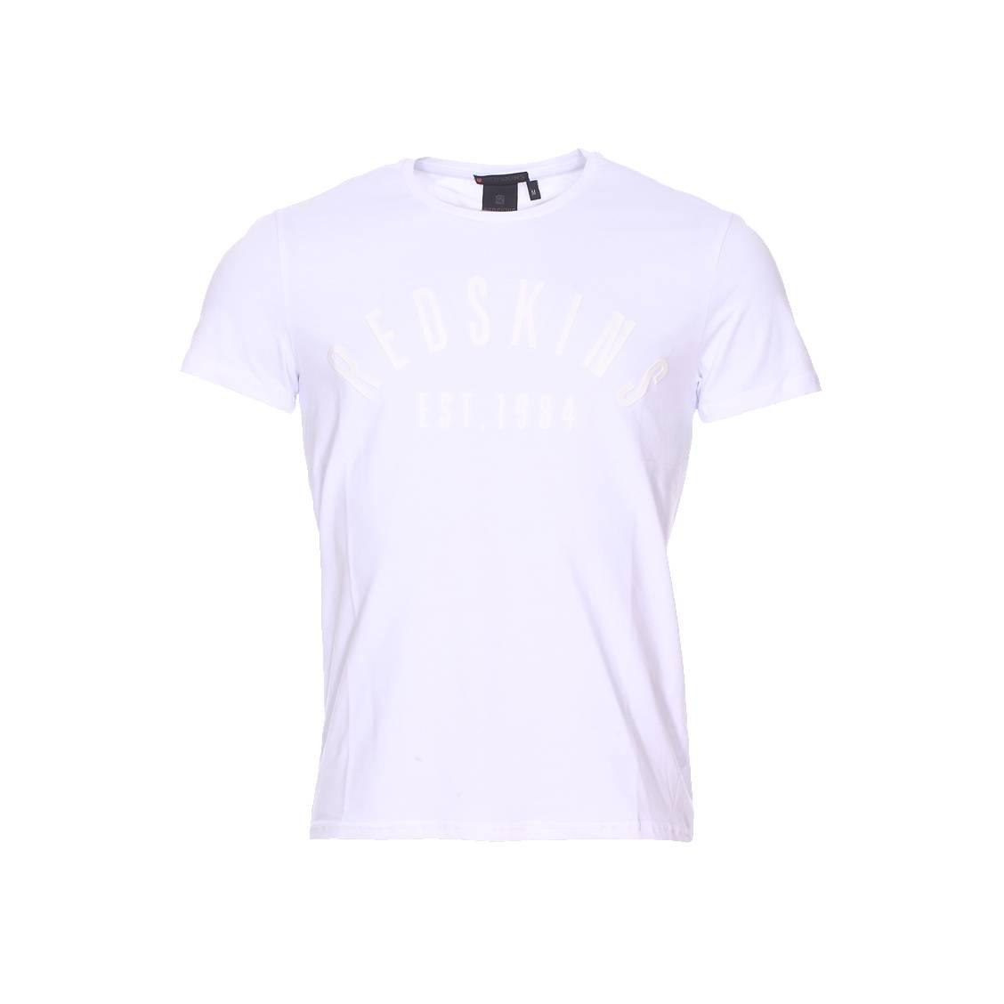 Tee-shirt col rond  malcolm calder blanc