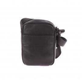 Petite sacoche Replay en similicuir noire