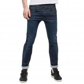 Jean slim Hyperflex Replay Anbass bleu brut