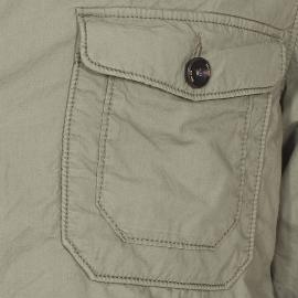 Veste boutonnée S.Oliver en coton kaki