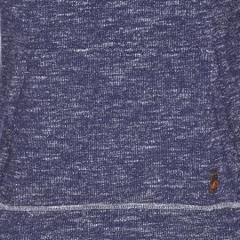 Sweat col boule S. Oliver en coton bleu mélangé
