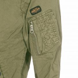 Bomber Clay Schott NYC en coton kaki