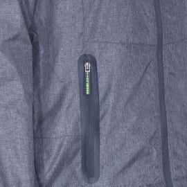 Veste à capuche zippée Superdry bleu indigo chiné