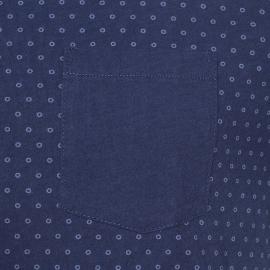 Tee-shirt Iggy Tommy Hilfiger bleu marine à motifs ronds bleu nuit et à poche