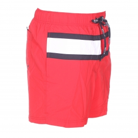 Short de bain Tommy Hilfiger Flag rouge