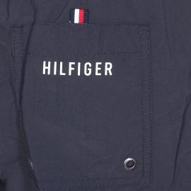 Short de bain Tommy Hilfiger Flag bleu marine