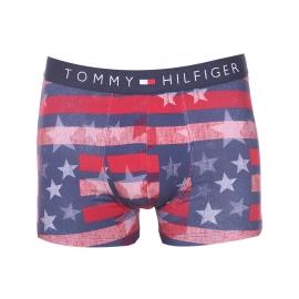 Boxer Tommy Hilfiger en coton stretch imprimé du drapeau américain effet patiné