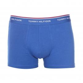 Lot de 3 boxers Tommy Hilfiger en coton stretch bleu roi, bleu marine et turquoise