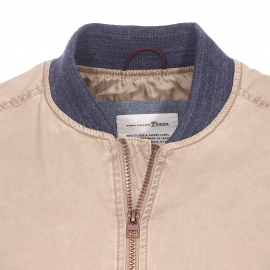 Bomber Tom Tailor beige
