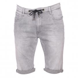 Bermuda Scotty Teddy Smith en jean gris clair