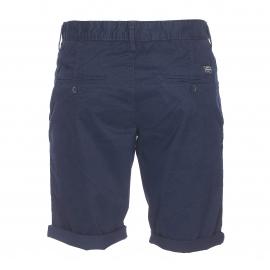 Short Chino Teddy Smith en coton bleu marine