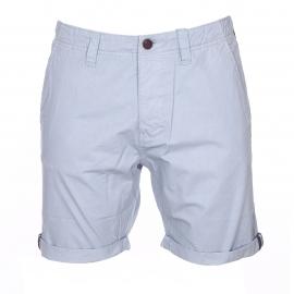 Bermuda The Fresh Brand en coton bleu clair