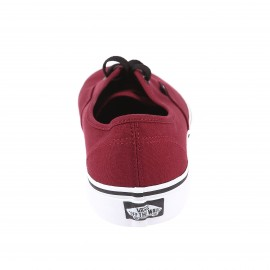 Baskets Authentic Vans en toile bordeaux