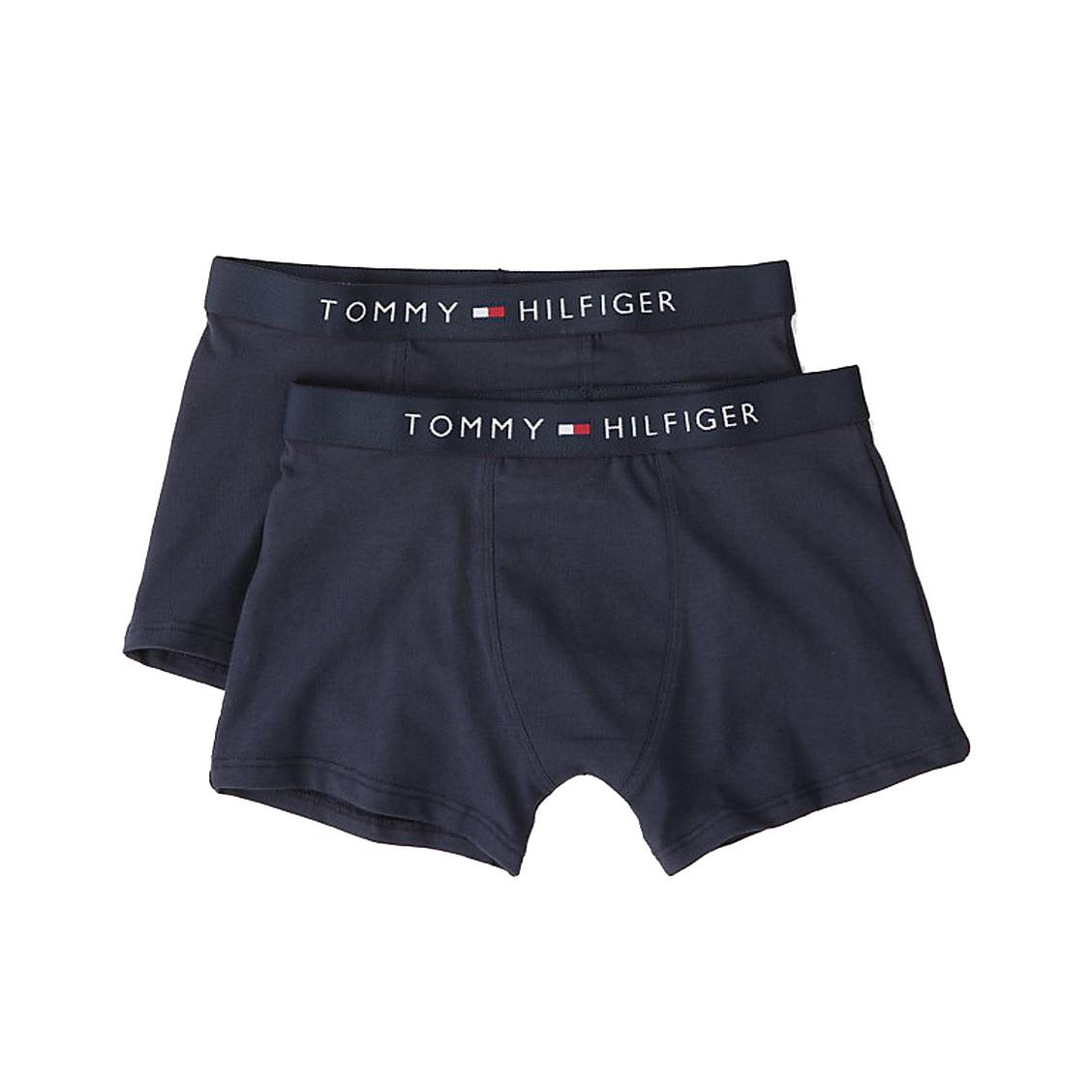 Lot de 2 boxers  en coton stretch bleu marine