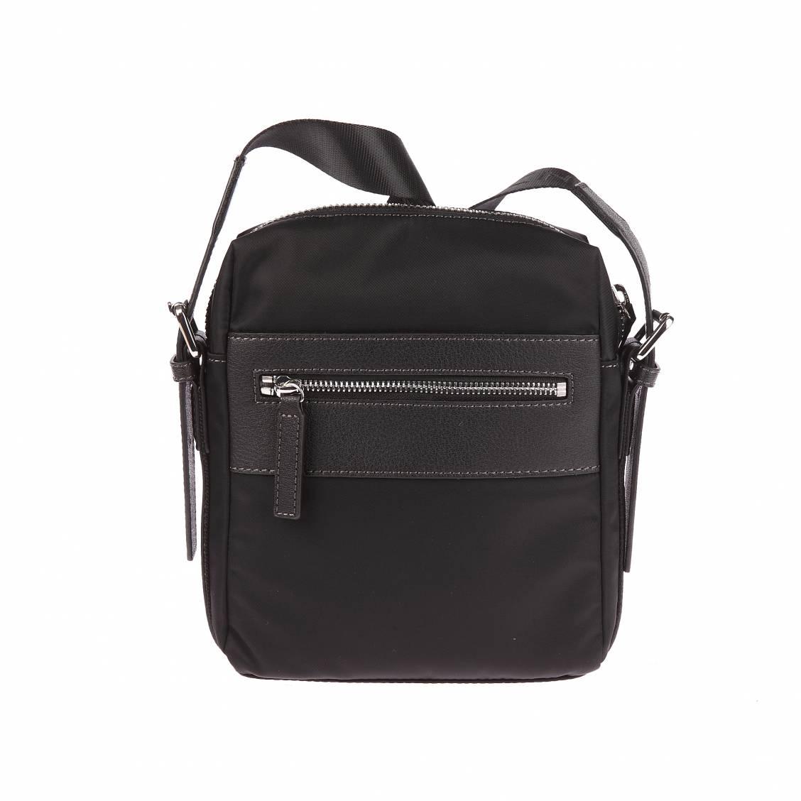 Petite sacoche à poches zippées Chabrand Noire cZ5zPQvMN6
