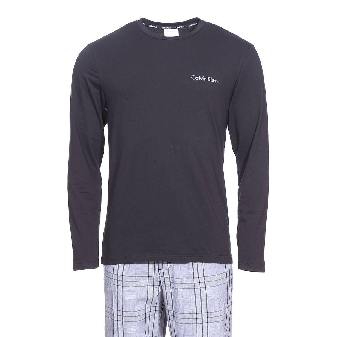 Pyjama homme calvin klein jusqu 60 soldes deuxi me - Tee shirt manche longue calvin klein ...