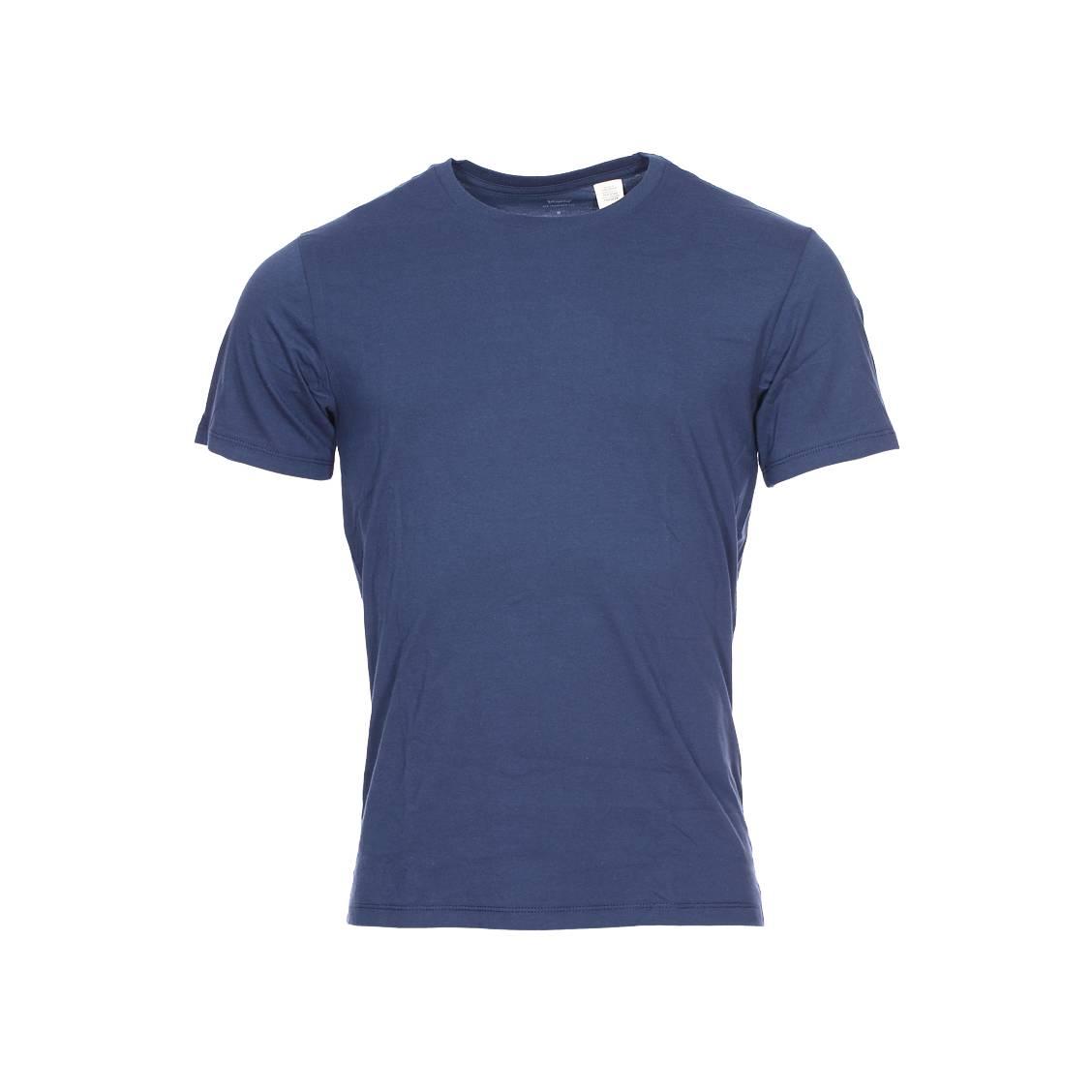 lot de 2 tee shirts levi 39 s slim fit crewneck en coton bleu. Black Bedroom Furniture Sets. Home Design Ideas