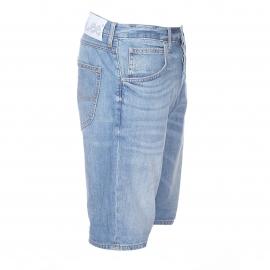 Bermuda Lee en jean bleu délavé