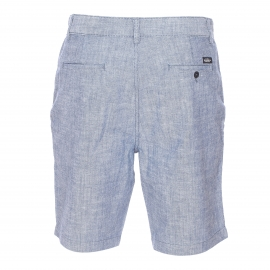 Short Chino Lee en chambray bleu