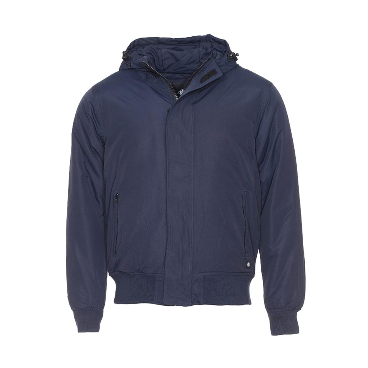Blouson imperméable à capuche cornwell  bleu marine