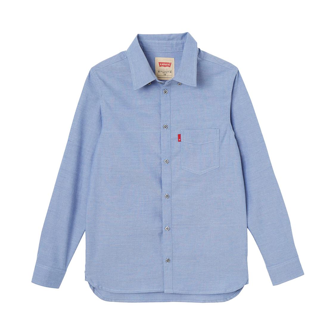 Chemise levi\'s junior en coton bleu ciel
